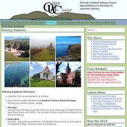 Orkney Explorer - Orkney Uncovered