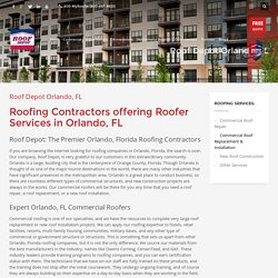 Roofing Contractors in Orlando FL