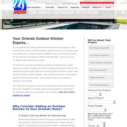 Find Best Outdoor Kitchen Designs Orlando