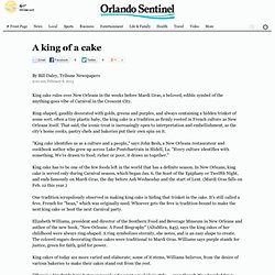 Orlando Sentinel - New Orleans king cake