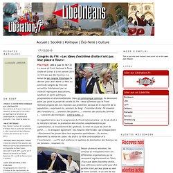 Congrès du FN: «Les idées d'extrême droite n'ont pas leur place à Tours»