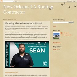 New Orleans LA Roofing Contractor