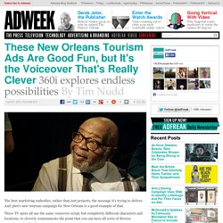 These New Orleans Tourism Ads Are Good Fun, but It's the Voiceover That's Really Clever