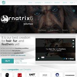 Ornatrix 3dsmax