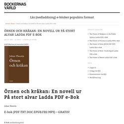 Örnen och kråkan: En novell ur På stort alvar Ladda PDF e-Bok