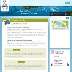 Carte de visite du lac : tourisme, loisirs, détente, nature et ornithologie en Champagne - Lac du Der
