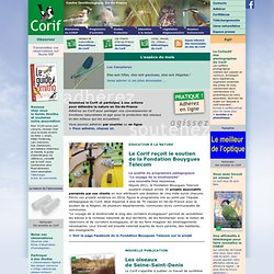 Centre Ornithologique Ile-de-France - Association naturaliste