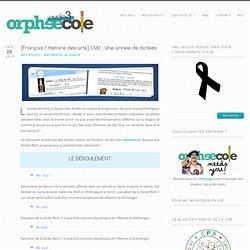 [Français / Histoire des arts] CM2 : Une année de dictées - Cycle 3 ~ OrphéecoleCycle 3