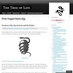 Orphic Egg | The Tree of Life