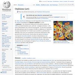 Orphisme (art)