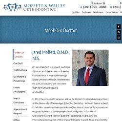 Meet The Dr. Jared Moffett