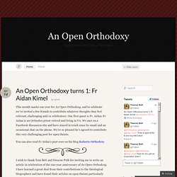 An Open Orthodoxy « Exploring Ancient Paths in New Ways