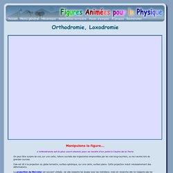 Orthodromie, Loxodromie