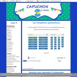 Orthographe - Capuchon à l'école