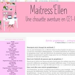 Orthographe - Maitress'Ellen