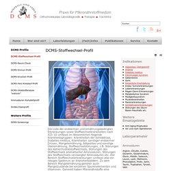 DCMS-Stoffwechsel-Profil - Die Experten für orthomolekulare Labordiagnostik