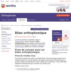 Bilan orthophonique: rôle et déroulement d'un bilan orthophonique