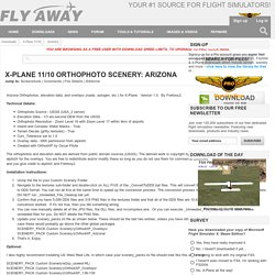 Orthophoto Scenery: Arizona for X-Plane 11/10