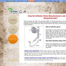 orthotic-parts