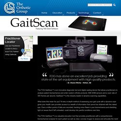 The Orthotic Group (Patient) – GaitScan™
