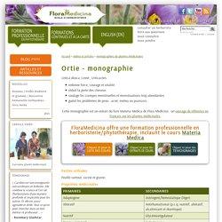 Ortie plante médicinale - Flora Medicina, école d'herboristerie