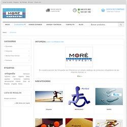 Ortopedia - Productos de ortopedia online y en Barcelona - Ortopedia Moré