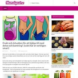 Frukt och örtvatten för att hjälpa till med detox och bantning? Ja det här är verkligen smart!