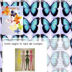 De oruga a Mariposa: Viste según tu tipo de cuerpo