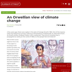 An Orwellian view of climate change