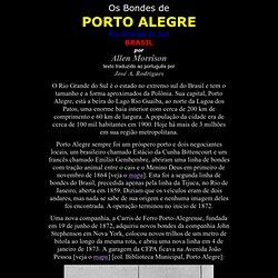 Os Bondes de Porto Alegre