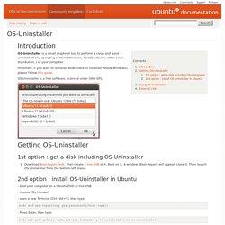 OS-Uninstaller