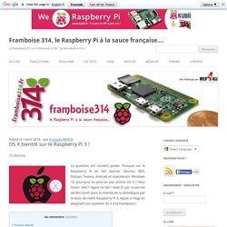 OS X bientôt sur le Raspberry Pi 3