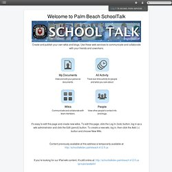 High School iPad Apps
