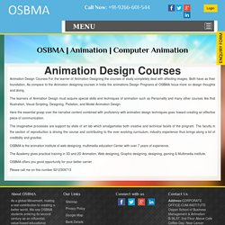 Animation & Designing Course Classes in Delhi