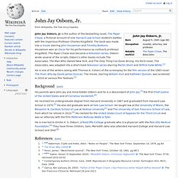 John Jay Osborn, Jr.