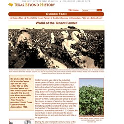 Osborn - World of the Tenant Farmer