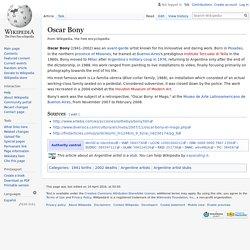 Oscar Bony
