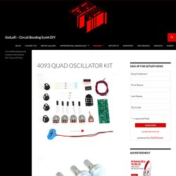 4093 Quad Oscillator Kit