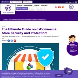 Ensures the high performance of your osCommerce website - osCommerce Ecommerce Website Development - Skynet Technologies USA LLC