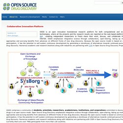 How OSDD works - Open Source Drug Discovery