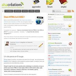 Osez HTML5 et CSS3 ! - Alsacréations