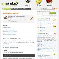 Osez HTML5 et CSS3 !