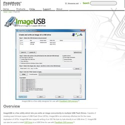 Tools for OSForensics - ImageUSB - Write an image to multiple USB Flash Drives
