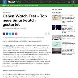 Oshen Watch Test