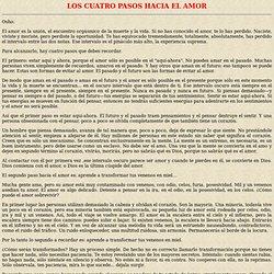 Osho: LOS CUATRO PASOS HACIA EL AMOR