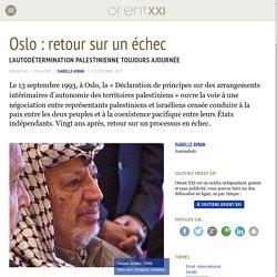 Oslo : retour sur un échec