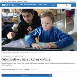 Oslofjortiser lærer kidsa koding - Digi.no