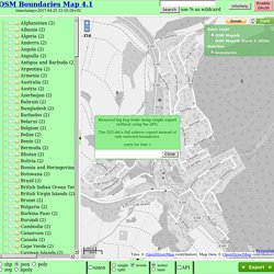 OSM Boundaries 4.1