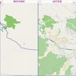 OSM Compare - Side by Side