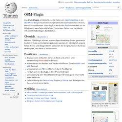 OSM-Plugin